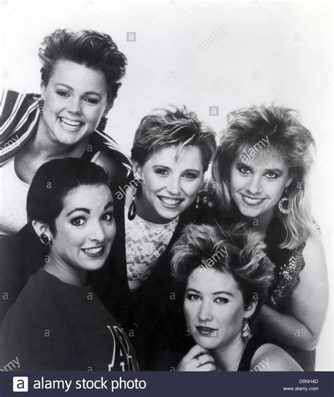 the go gos promotional photo of us about 1982 with