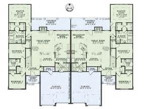 multi family house plans duplex duplex townhome plans house plans multi family