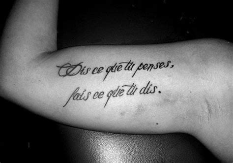 arm tattoos for men quotes cool arm quote tattoos bicep ideas for and