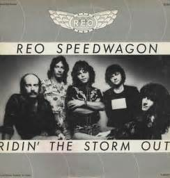 Speedwagon ridin the storm out us promo deleted 12 quot vinyl
