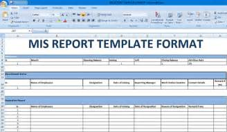 Account Report Template these excel reporting templates daringly reduce the job by making