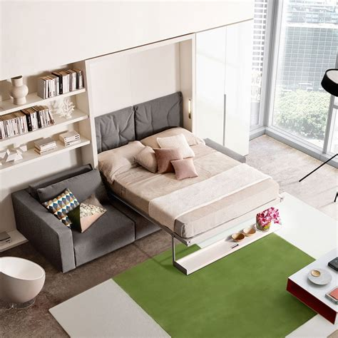 wall bed with sofa uk swing wall bed sofa with chaise save space