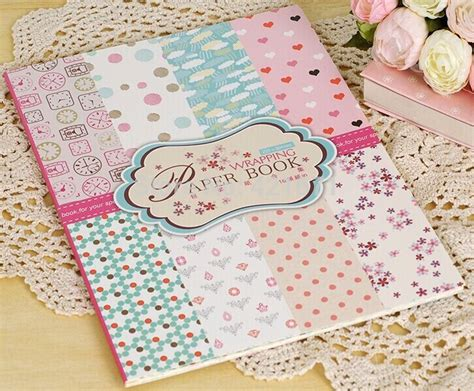 net paper pattern 2015 2015 exclusive diy gift wrapping paper book 16sheets set