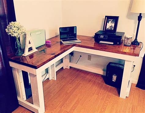 diy corner desk ideas corner desk home sweet home in 2019 diy computer desk diy desk pallet desk