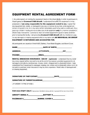 sle equipment lease agreement template instrument rental agreement template 28 images sle