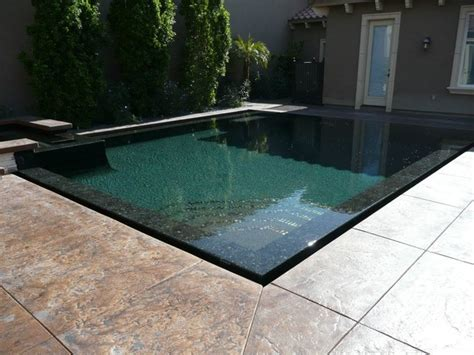 perimeter overflow pool pool los angeles by allstate pools amp spas