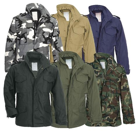 Jaket Parka Jaket Parka Army Jaket Army Parka Jaket Parka Army Ba s m65 us field jacket combat army quilted parka liner work coat ebay