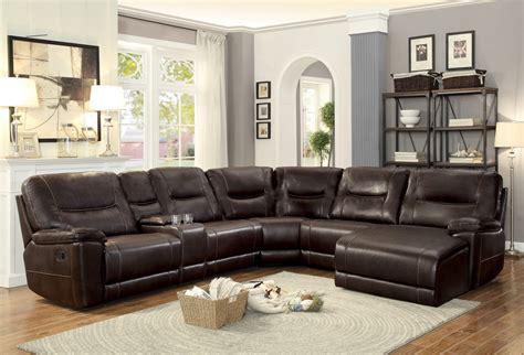sectional sofas columbus homelegance columbus reclining sectional sofa set c