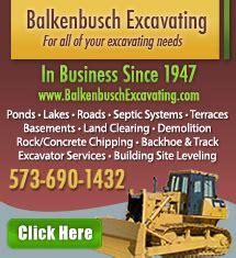 bentley excavating excavating contractors in columbia mo