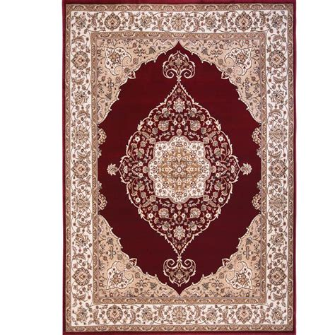 Throw Rugs Home Dynamix Bazaar Emy Hd2587 Ivory 5 Ft 2 In X 7