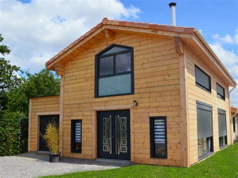 Maison En Bois Scandinave 4734 by Une Maison En Bois Massif Inspir 233 E Des Chalets Scandinaves