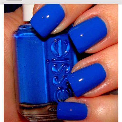 dodger blue dodger blue nails thinkblue nails pinterest