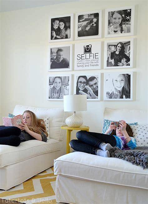 teen bedroom selfies selfie tween teen instagram hangout wall diy