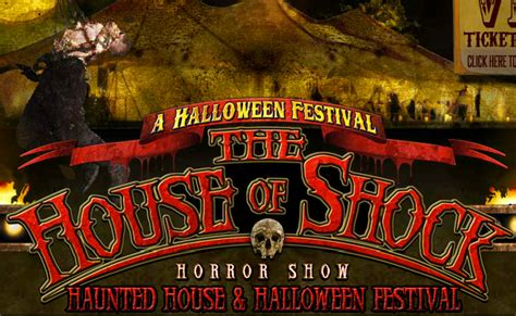the house of shock the house of shock church of halloween