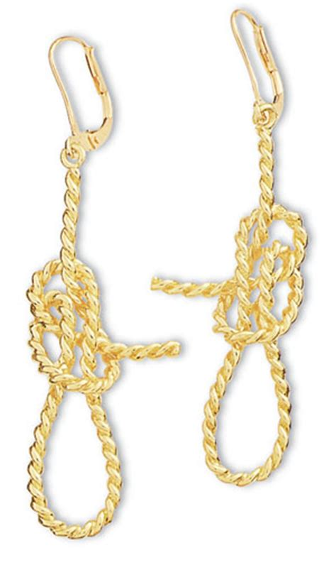 tugboat knot aga correa son since 1969 bowline tugboat earrings