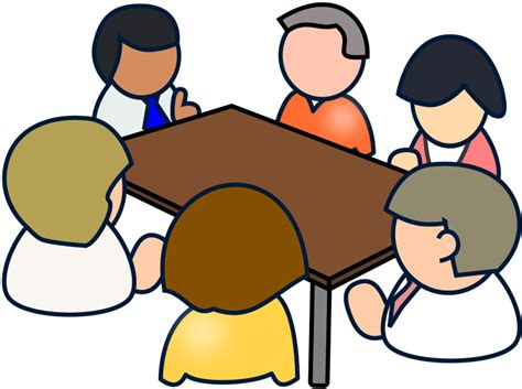 meeting clipart clipart diverse meeting