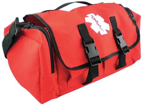147 emergency medic emt aid bag fully stocked