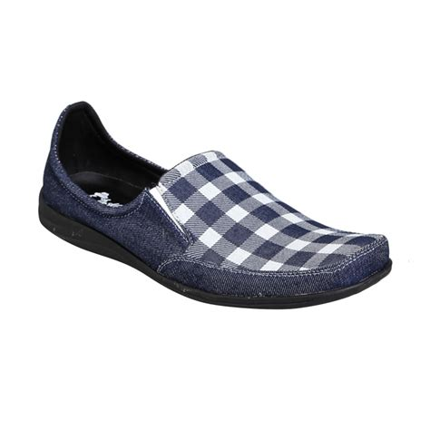 Sepatu Dr Kevin jual dr kevin shoes 13210 slip on loafer denim sepatu