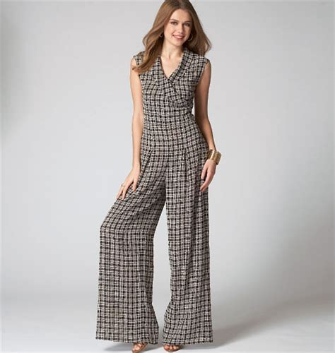jumpsuit pattern mccalls mccall s 7133 misses miss petite top pants and jumpsuit