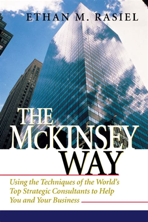 Does Mckinsey Support Mba by Book Review The Mckinsey Way Tomorrow Must Be Better