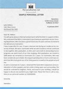 How To Write A Personal Cover Letter by How To Write A Personal Letter Format Cover Letter Templates