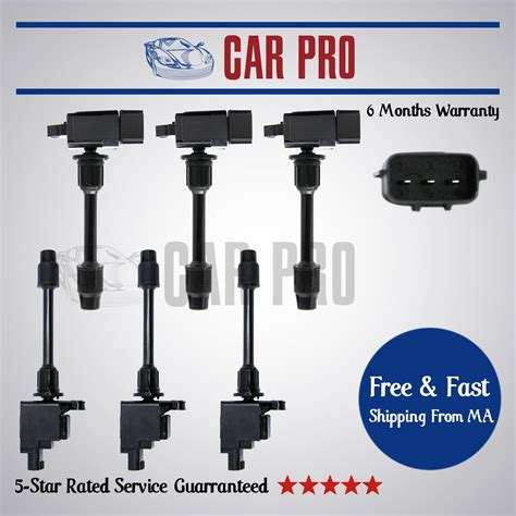 Ignition Coil Nissan Cefiro 2001 Pendek 22448 2y005 10002457 6 pack ignition coils for 2000 2001 maxima infiniti i30 ic486 uf348 ebay