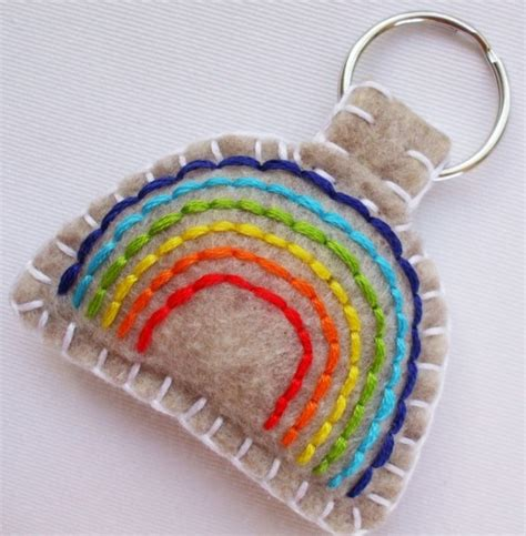 keychain crafts for 17 best images about felt on felt hearts free
