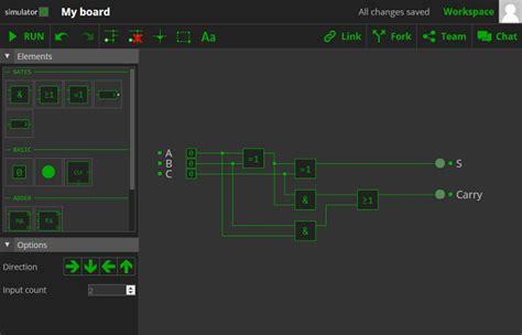 logic circuit builder best free circuit simulator element14