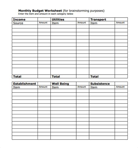 chart organizer template bill organizer chart 5 documents in pdf