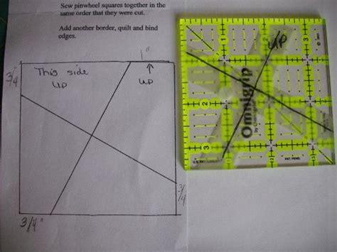 pinwheel template twist quilts pinterest