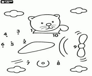 imagenes para colorear uniendo puntos colorear descubre donde est 225 el osito uniendo los puntos
