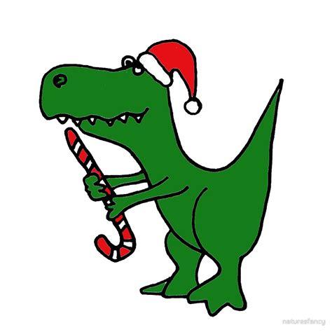 Dinosaur Home Decor quot cool funky christmas green t rex dinosaur in santa hat