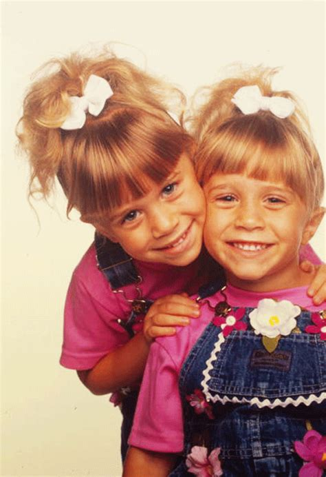 the twins on full house the olsen twins model 1990s childrens fashion