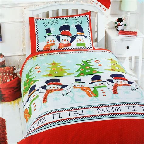 Snowman Comforter by Charm Decoration For Boy Bedroom