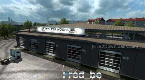 How Big Should A Garage Be For 2 Cars by Big Garage Wolter Koops Truck Simulator 2 Mods