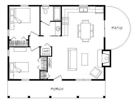 2 bedroom cottage floor plans 2 bedroom log cabin floor plans 2 bedroom manufactured