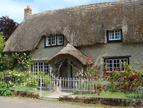 Glebe Cottages by Thornford Parish Records Dorset