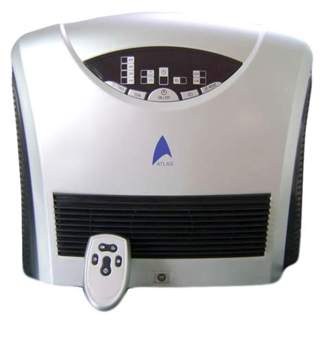 air purifier with ozone generator and two electrostatic precipitators esp g atlas air