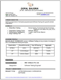 excellent resume templates for freshers chartered accountant resume format freshers page 2 cv