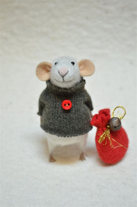 25 unique needle felted ornaments ideas on