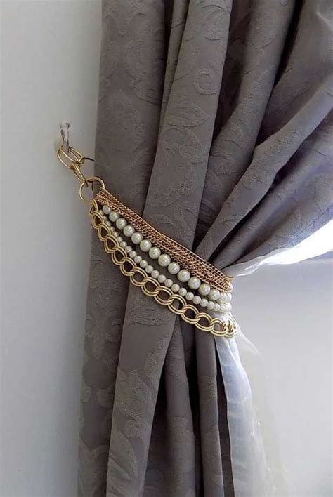 ways to tie curtains blingy tie back inexpensive ways to spruce up your