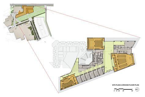 2828 ground floor plan gallery of northwestern center goettsch partners 17