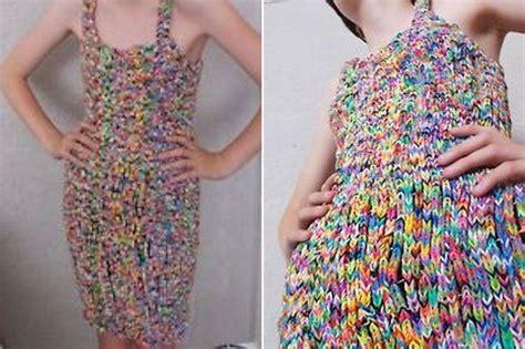 dress made from 24k loom bands sells on ebay for 170k winning bidder for 163 170 000 ebay loom band dress doesn t