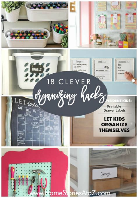18 clever home organizing tips imageries homes alternative 49108 432 best clever ideas images on pinterest organisation