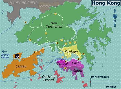 map world hong kong maps of hong kong detailed map of hong kong in