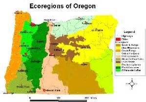 oregon soil map list of ecoregions in oregon