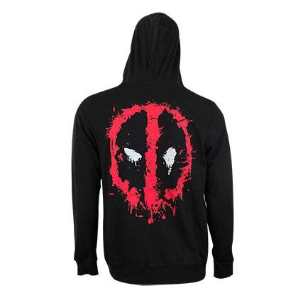 Hoodie Deadpool Dennizzy Clothing 2 deadpool zip up hoodie for only 163 34 95 at
