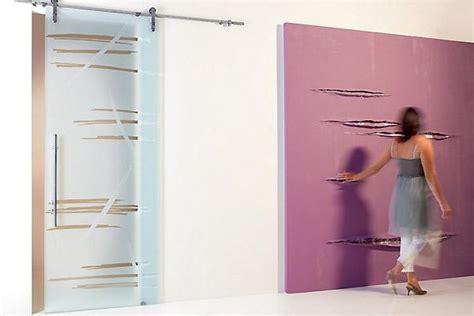 porte con binario esterno porte scorrevoli su binario esterno in vetro