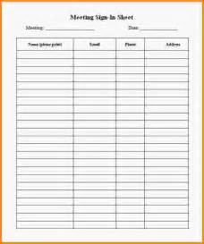 Sign In Sheet Template For by Doc 432593 Printable Sign In Sheet Printable Sign In