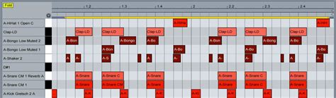 make drum pattern ableton how to create a moombahton beat in ableton live ask audio